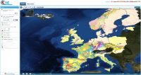 Onegeology-Europe: Portail cartographique